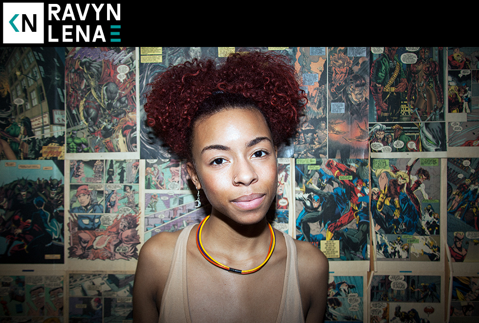 Ravyn Lenae on Kinda Neat